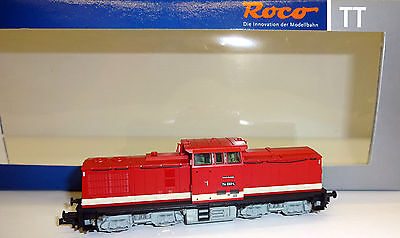 "Roco TT 36303 diesel locomotive BR 114 660-4 the DR ""Digital+Sound+ novelty"