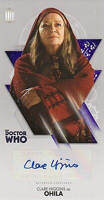 Doctor Who: The Tenth Doctor Adventures - Clare Higgins (Ohila) Autograph Card