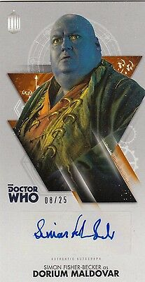 Doctor Who: The Tenth Doctor Adventures - Simon Fisher-Becker Autograph 08/25