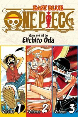 One Piece: East Blue 1-2-3, Vol. 1 (Omnibus Edition) 9781421536255