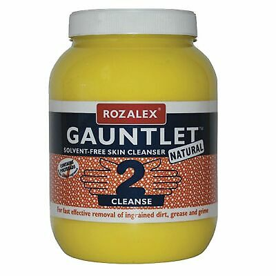 Rozalex Gauntlet Natural Lemon Heavy Duty Hand Cleaner/Cleanser - 3 Litre