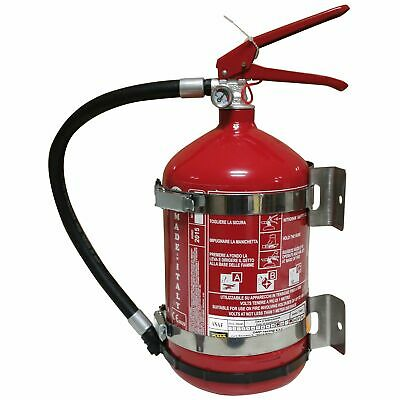 OMP 4kg Dry Powder Hand Held Safety Class A/B/C Fire Extinguisher