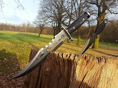 2er Set Bowie Messer  Machete Jagdmesser Knife Buschmesser Costello Macete Neu