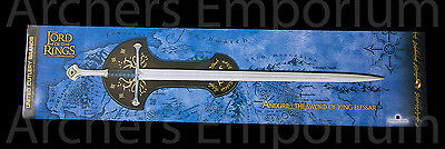 1st Edition, Anduril Sword of King Elessar Replica. United Cutlery. LotR. New.