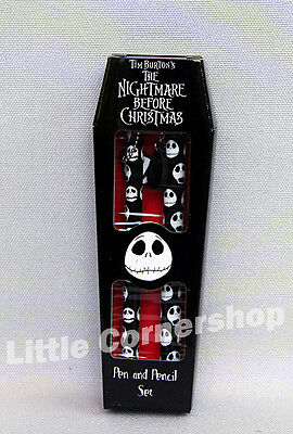 Nightmare Before Christmas Pen & Pencil Set Bleistift & Kugelschreiber in Box