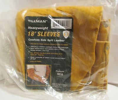 Tillman Heavyweight 18 inch leather welding sleeves one pair #5218