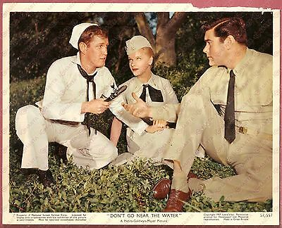 1957 DON'T GO NEAR THE WATER Glenn FORD Anne FRANCIS Earl HOLLIMAN *Foto seriale