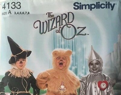 d196f9d9b SIMPLICITY/ COSTUME PATTERN/ 4136/New/The Wizard of Oz/ lion ...