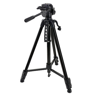 Professional Travel Tripod&Pan Head For Digital DSLR Canon Nikon Camera Portable