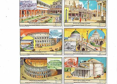 The Beauty of Ancient Rome.Liebig set F1673.Issued 1957.Full set of 6.