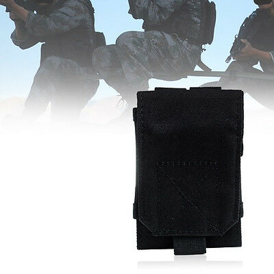 Tactical Military Airsoft Pouch Hip Molle Waist Bag Cellphone Case For iPhone