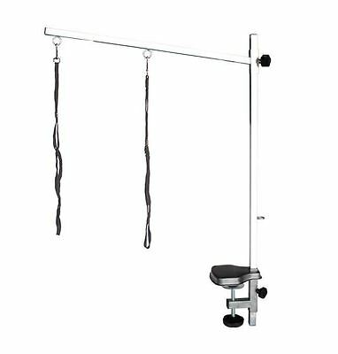 Pedigroom  stainless steel dog pet cat grooming bar arm noose clamp 60 x 90cm