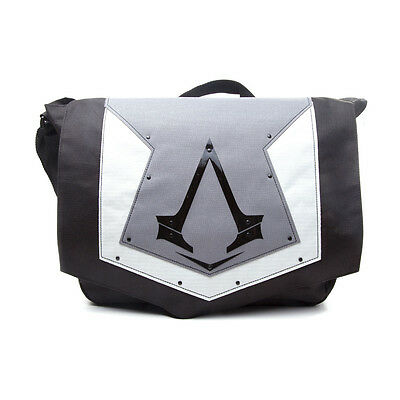 NEW! Assassin's Creed Syndicate Unisex Grey Cover With Brotherhood Crest Messeng