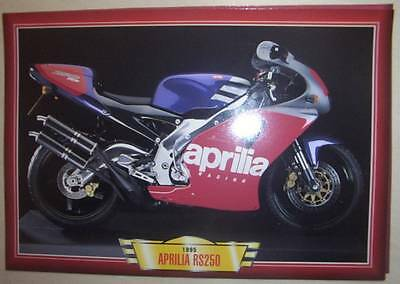 Aprilia Rs250 Rs 250 Modern Classic Motorcycle Bike 1990's  Picture Print 1995