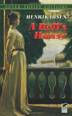 A Doll's House (Dover Thrift) - Paperback NEW Ibsen, Henrik 2000-01-02