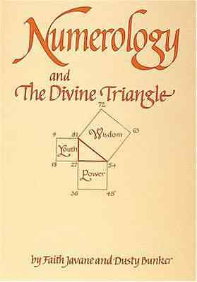 Numerology and the Divine Triangle - Paperback NEW Bunker, Dusty 1997-01-15