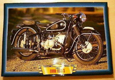 Bmw R51/3 500 Vintage Classic Motorcycle Bike 1950's Picture Print 1951