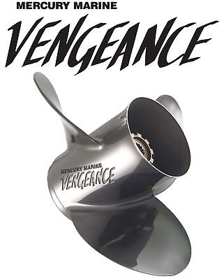 Mercury Vengeance 3 Blade Stainless Steel Propeller 14-1/2 x 17 Pitch Prop
