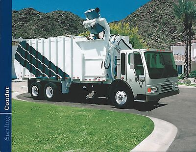 Truck Brochure - Sterling - Condor - 2000 - Garbage Refuse cover (T1900)