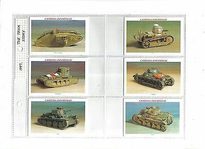 Wills Castella The Tank Story.Issued 1997.Full set of 30