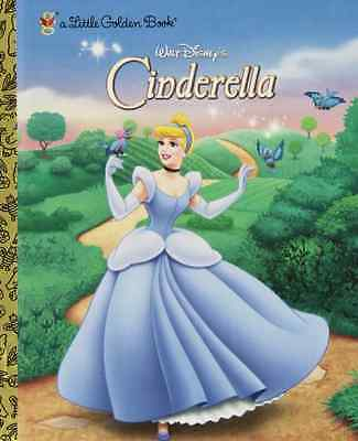 Walt Disney's Cinderella (Little Golden Books (Random H - Hardcover NEW Disney,