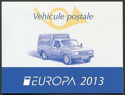 MOLDOVA Sc.# 784a,785a Europa 2013 Stamp S/S Booklet