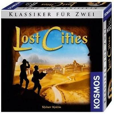Kosmos 691820 - Lost Cities-691820 - Lost Cities-Toy/spielzeug Kosmos New