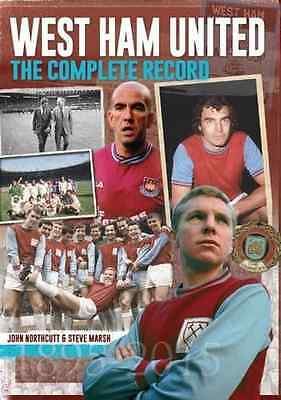 West Ham: The Complete Record - Hardcover NEW Steve Marsh (Au 2015-08-27