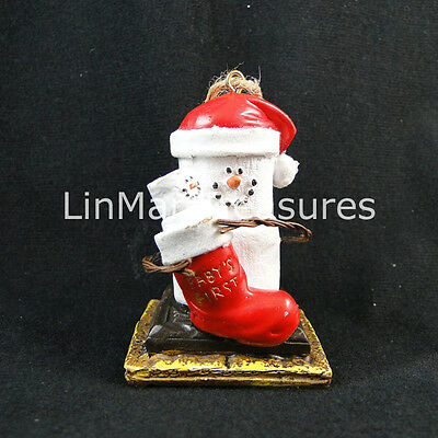 S'mores Baby's First Christmas Ornament Midwest CBK