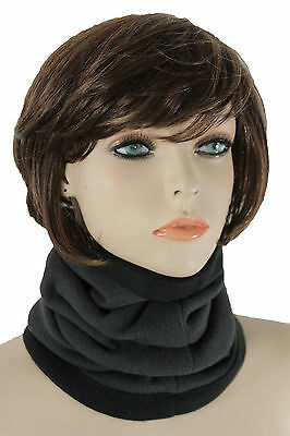 Men Women Scarf Turtle Neck Warmer Head Cover Hair Outdoor Loop Mask Hat Sport