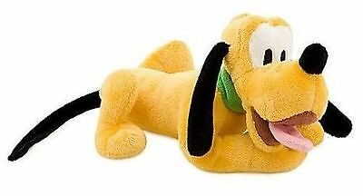 Disney Store PLUTO Mini Bean Stuffed Plush Doll Mickey's Dog Bloodhound Soft NEW