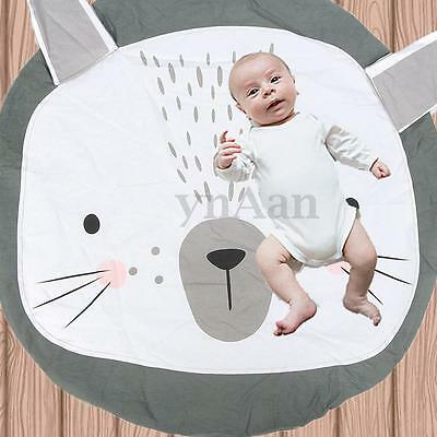 Infant Baby Kids Child Rabbit Playing Rug Gym Shower Mat Blanket Christmas Gift