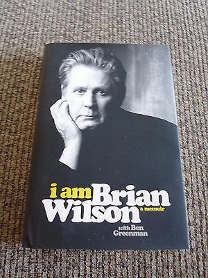 Beach  Boys I Am Brian Wilson Memoir Signed Autographed HB Book PSA Guaranteed