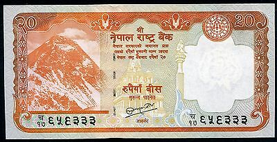 NEPAL 20 Rupees 2012 (2013) P-71 UNC uncirculated banknote