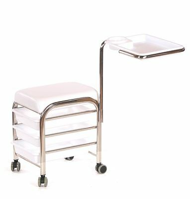 Urbanity manicure nail hair station beauty salon trolley chair stool table wx