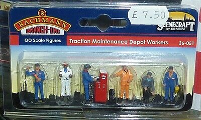 Bachmann 00 Gauge Figures - (36-051) Traction Maintenance Depot Workers -