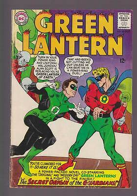 Green Lantern # 40  Secret Origin of the Guardians !  grade 3.0 scarce book !