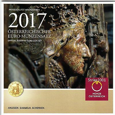 NEW !!! Euro AUSTRIA 2017 in Folder Ufficiale NEW !!!