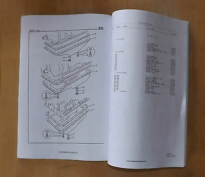 Bedford 8.2 litre.500 Series.Radified.Commercial Illustrated parts list.1986.