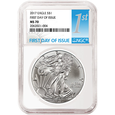 2017 $1 American Silver Eagle NGC MS70 FDI First Label