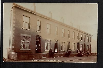 Milnrow near Rochdale - Brierfield - real photographic postcard