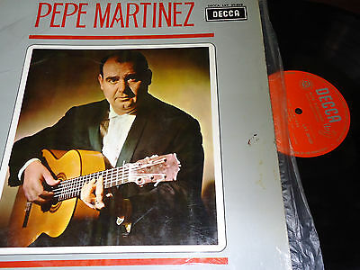 "PEPE MARTINEZ - Pepe Martínez, LP 12"" SPAIN 1965 FLAMENCO"