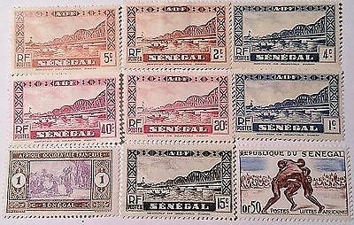 Senegal Mint/h Stamps Scu993Pp...worldwide Stamps