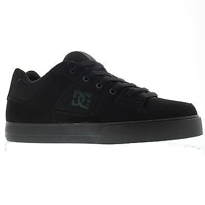 DC Shoes Pure Black Mens Trainers