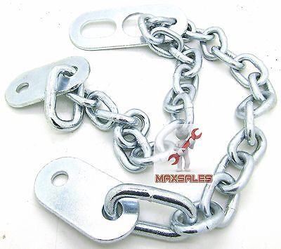 "New 36"" x 8mm Engine Lifting Chains Sling Connects to Hoist Lifting Plate Zinc"