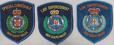 NSW Law Enforcement x 2 & Special Constable patches