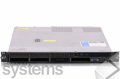 HP Proliant DL360 G5 Server Intel 1,86GHz DC / 2GB RAM / E200 Raid / 1PSU / DVD