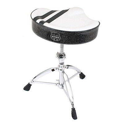 Mapex T756W Limited Edition Throne White with Black Stripes (NEW)