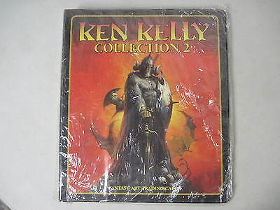 Unused Ken Kelly Collection 2 Trading Card Factory Binder