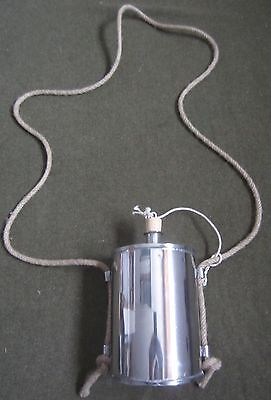 Civil War Csa Us Union Confederate Stainless Steel Canteen